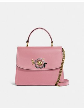 Parker Top Handle With Tea Rose Stones by Coach