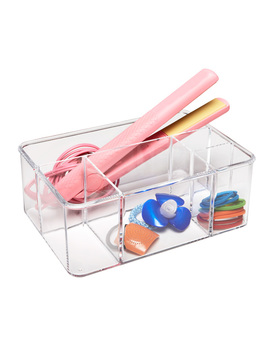 Acrylic Hair Care Organizer by Container Store