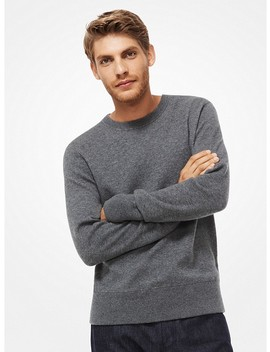 Donegal Wool Blend Pullover by Michael Kors Mens