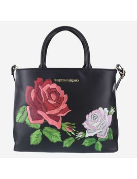 Women's Embroidered Rachel Satchel by Learn About The Brand Christian Siriano For Payless