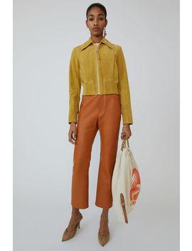 suede-jacket-mustard-yellow by acne-studios
