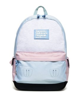 Jersey Colour Block Montana Rucksack by Superdry