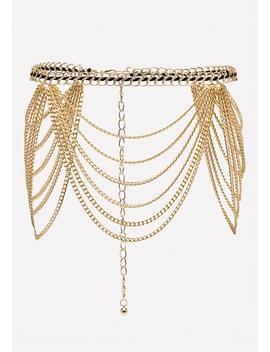 Woven Chain Belt by Bebe