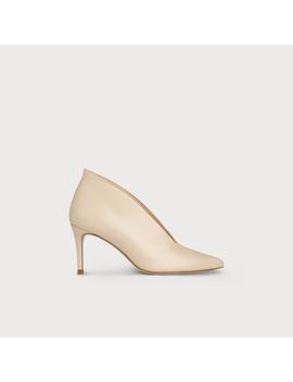 Corrina Nude Leather Heel by L.K.Bennett