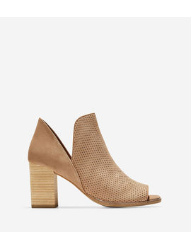 Shiloh Open Toe Bootie (75 Mm) by Cole Haan