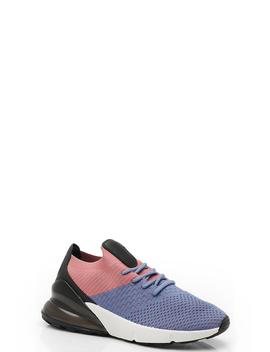 Knitted Lace Up Sports Trainers by Boohoo