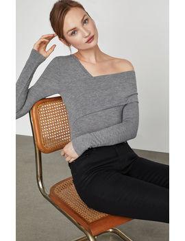 Asymmetric One Shoulder Bodysuit by Bcbgmaxazria