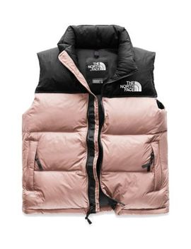 Women's 1996 Jumbo Logo Retro Nuptse Vest by The North Face