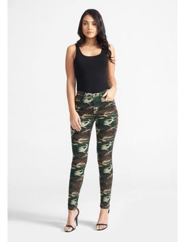 Tall Skinny Camo Jeans by Alloy
