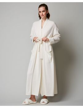 Classic Collection Long Cashmere Robe by Arlotta Journelle Patricia Green Eberjey Journelle Eberjey