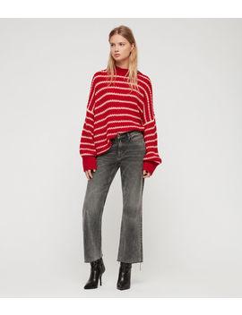 Renne Stripe Sweater by Allsaints