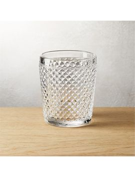Chroma Clear Double Old Fashioned Glass by Crate&Barrel