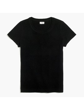 Cashmere Short Sleeve T Shirt by J.Crew