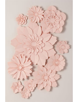 Paper Flower Wall Decor by Bhldn