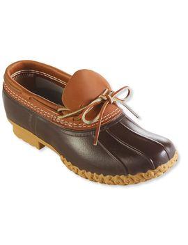 Men's Bean Boots By L.L.Bean®, Rubber Moc by L.L.Bean