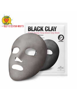 [So Natural]  *Time Deal*  Design Deep Black Clay Mask by Style Korean