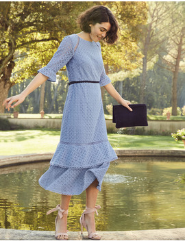 Lana Lace Midi Dress by Boden
