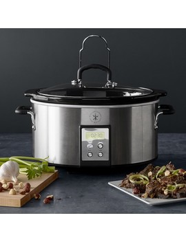 Williams Sonoma Open Kitchen Programmable Slow Cooker, 6 Qt. by Williams   Sonoma