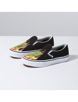 Kids Demon Trolls Slip On by Vans