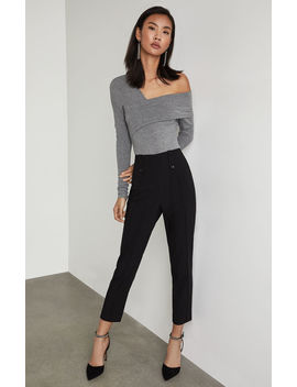 Pintuck Cropped Pant by Bcbgmaxazria
