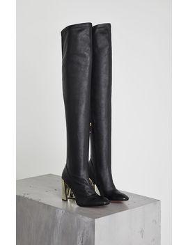 Bea Stretch Leather Boot by Bcbgmaxazria