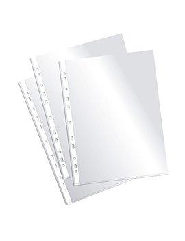 Plus Office Eh303 A 8/Fc   Fundas Multitaladro Folio Cristal, 90 Micras, 100 Unidades, Transparente by Plus Office