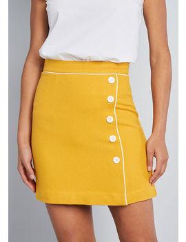 Own The Era Mini Skirt by Modcloth