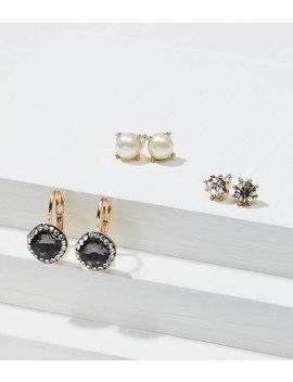 Winter Glam Stud Earring Set by Loft