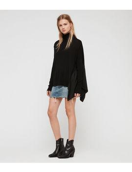 Alda Roll Neck Sweater by Allsaints
