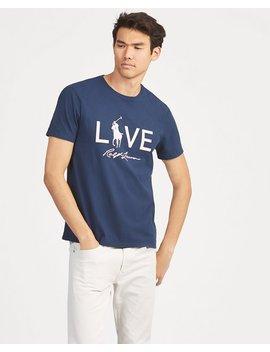 Pink Pony Custom Slim T Shirt by Ralph Lauren