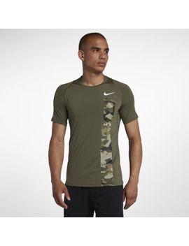 Nike Pro Men's Short Sleeve Camo Top. Nike.Com by Nike