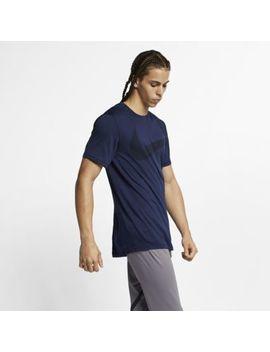 Nike Breathe Men's Short Sleeve Training Top. Nike.Com by Nike