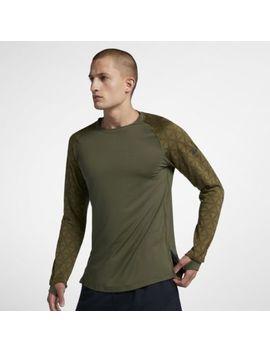 Nike Pro Men's Long Sleeve Utility Top. Nike.Com by Nike