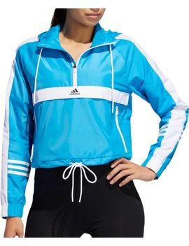 Adidas Women's Id Wind Half Zip Jacket by Adidas