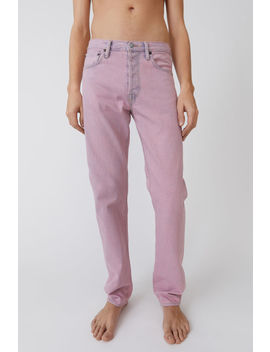 Classic Fit Jeans Blue/Pink by Acne Studios