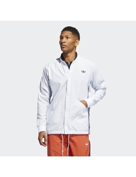 Seersucker Coach Jacket by Adidas