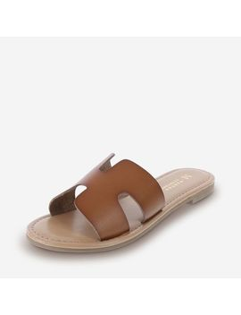 Women's Fairview H Band Slide Sandal by Learn About The Brand Martha Everyday