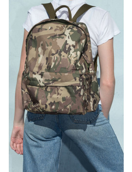 Camouflage Backpack by Brandy Melville