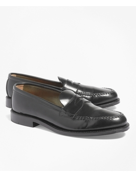 Cordovan Unlined Penny Loafers by Brooks Brothers