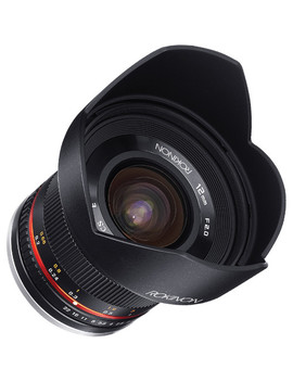 12mm F/2.0 Ncs Cs Lens For Canon Ef M Mount (Black) by Rokinon