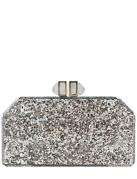 Judith Leiber Paillettes Faceted Box Clutch by Judith Leiber