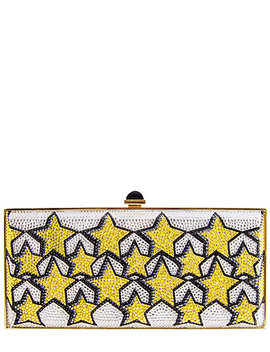 Judith Leiber Stars Clutch by Judith Leiber