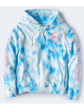Forward Thinking Tie Dye Pullover Hoodie by Aeropostale