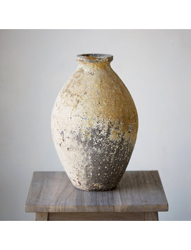 Barnacle Oval Vase by Terrain