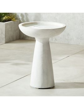 Skinny Dip Bird Bath by Crate&Barrel