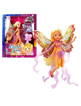 World Of Winx   Dreamix Fairy   Stella Bambola 28cm Con Magique Robe by Witty Toys