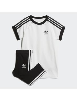 3 Stripes Dress Set by Adidas