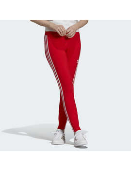 V Day 3 Stripes Tights by Adidas