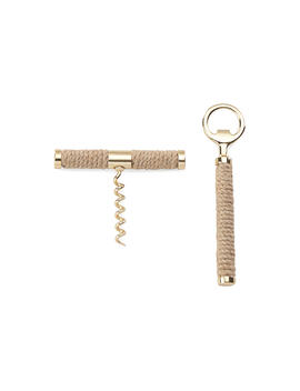 """Asst. Of 2 Melrose Ave. Bar Tools, Beige/Gold by [""""Kate Spade New York""""]"""