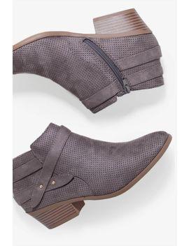 Under The Rug Short Bootie by A'gaci
